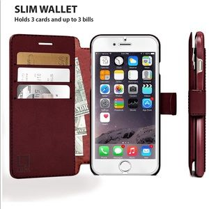 Accessories - NEW IPhone 6/6S Wallet case
